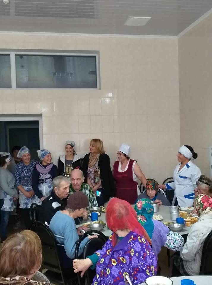 Gest frumos pentru bătrînii de la Centrul de Plasament pentru persoane în etate din or.Leova
