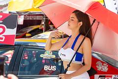 Grid Girls at Toyota Motorsport Festival, Phuket, Thailand              XOKA9607s