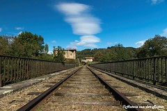 On the railroad - Photo of Cunlhat