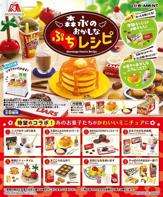 RE-MENT 袖珍盒玩系列「森永的美味食譜」懷念登場!森永のおかしなぷちレシピ