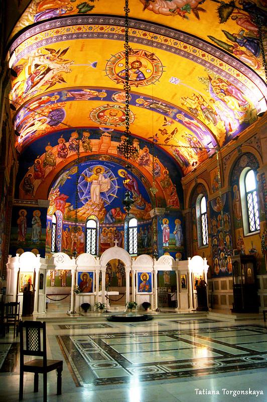 Интерьер собора Св. Преображения