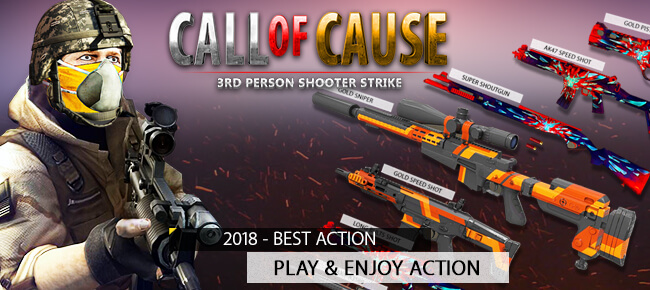 Call Of Cause v1.1 - Unity Source Code