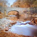 Bridge. Long exposure