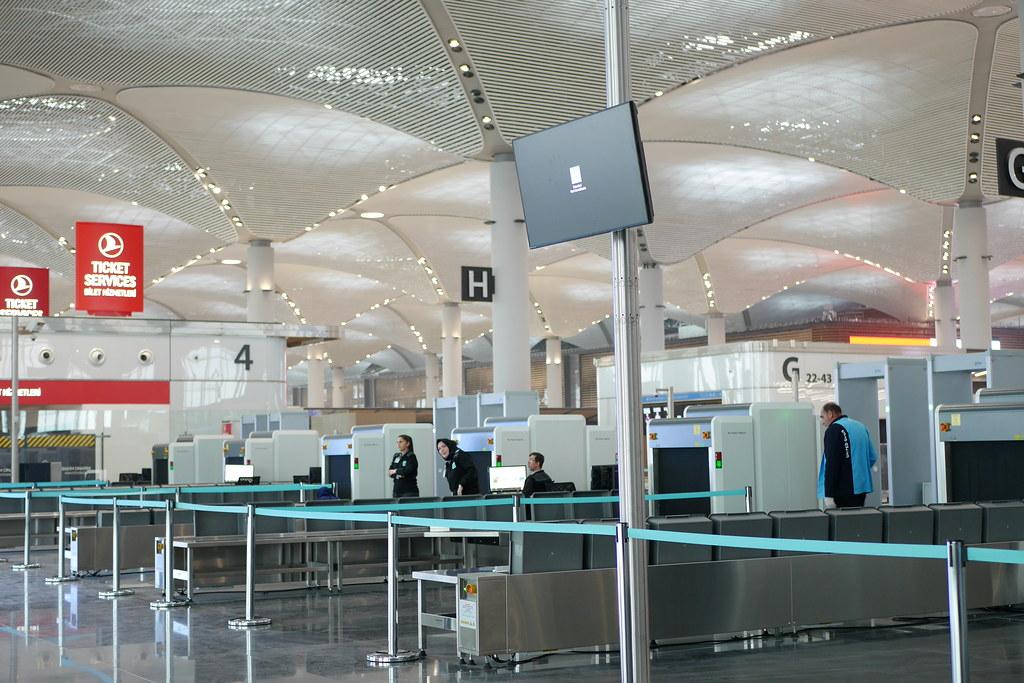 伊斯坦堡新机场-安检区