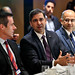 fortuneglobalforum posted a photo:029Fortune Global Forum 2018October 17th, 2018Toronto, Canada7:30 AMDIGITAL TRANSFORMATION AND GLOBAL GROWTH BREAKFAST ROUNDTABLELocation: Ritz-Carlton (Wellington B - 4th Floor)From the cloud and IoT to big data analytics, artificial intelligence and blockchain, digital transformation technologies are changing the way we work, play, share, shop, and interact with the world around us. As engaging the digital economy becomes imperative for productivity and growth, digital innovators are uniquely transforming the Canadian business landscape. How can business leaders secure the best digital talent and develop digital transformation strategies that will help maintain a competitive edge and drive inclusive global growth? This roundtable will bring together those at the forefront of Canada's tech sector with global business leaders to discuss the opportunities and risks posed by digital transformation across industries.Hosted by Fortune and Canadian Ministry of Innovation, Science, and Economic DevelopmentOpening Remarks: Navdeep Bains, Minister of Innovation, Science and Economic Development, CanadaFaisal Kazi, President and CEO, Siemens Canada Melissa Sariffodeen, Co-founder and CEO, Canada Learning Code  Moderator: Leigh Gallagher, FortunePhotograph by Stuart Isett/Fortune