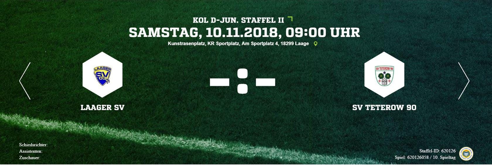 20181110 0900 Fußball D