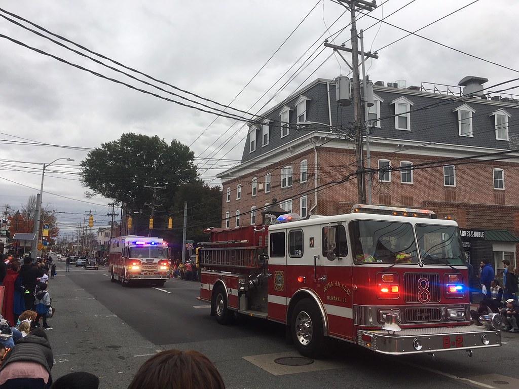 71st annual Newark Halloween Parade marches down Main Street