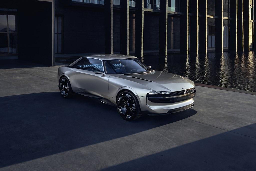 Peugeot e-Legend Concept 9