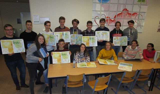 16 vrienden van de geografie doen mee aan de geo-olympiade