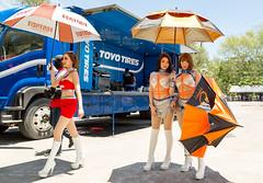 Sexy Grid Girls at Toyota Motorsport Festival, Phuket, Thailand                 XOKA9650s