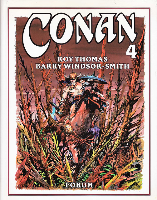 Conan de Roy Thomas y Barry Windsor Smith 04 -01- Portada