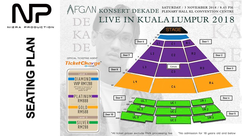 Konsert AFGAN Dekade Live In Kuala Lumpur 2018