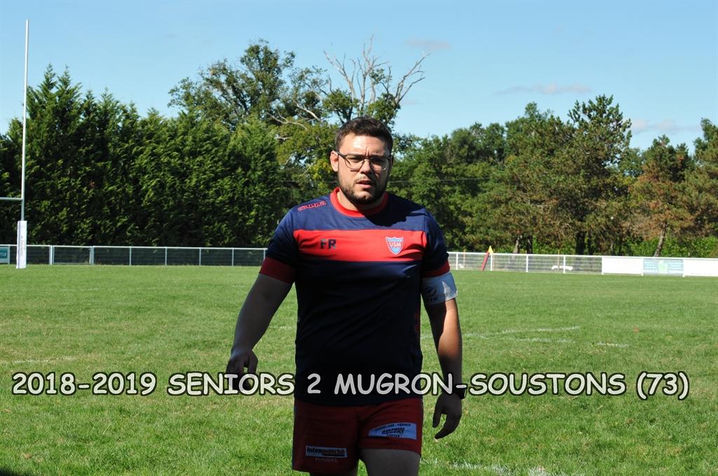 2018-2019 SENIORS 2 MUGRON - SOUSTONS