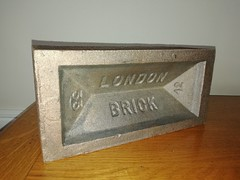 Bronze brick