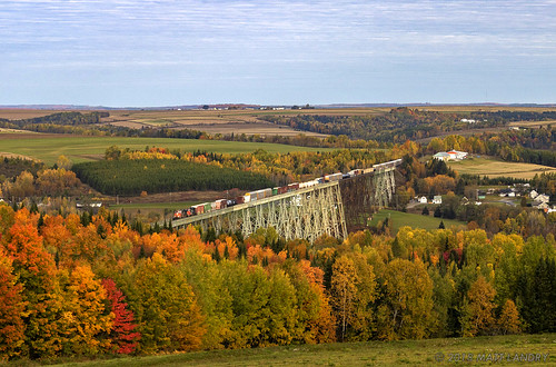 Fall On The Salmon River Trestle