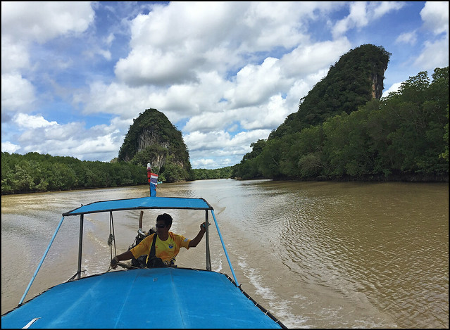 Boat Trip on Krabi River