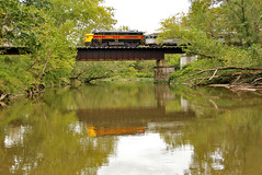 Reflection in the Cuyahoga