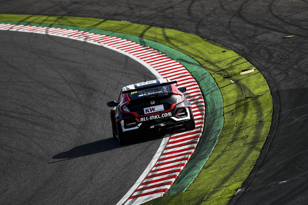 86 GUERRIERI Esteban, (arg), Honda Civic TCR team ALL-INKL.COM Munnich Motorsport, action during the 2018 FIA WTCR World Touring Car cup of Japan, at Suzuka from october 26 to 28 - Photo Clement Marin / DPPI