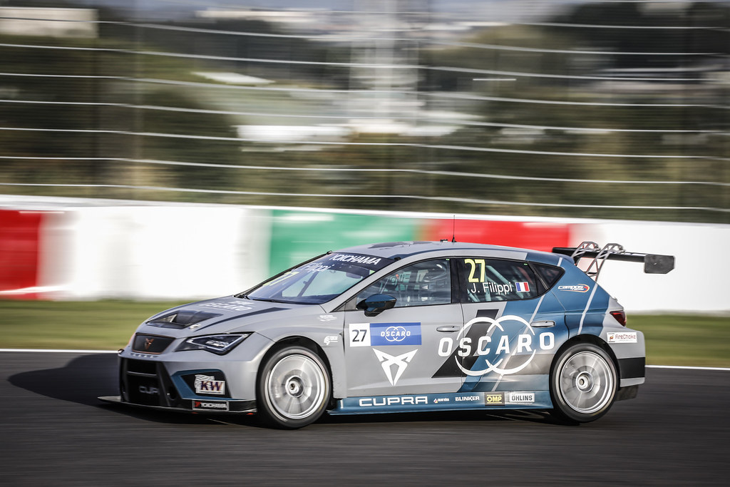 27 FILIPPI John, (fra), Seat Cupra TCR team Oscaro by Campos Racing, action during the 2018 FIA WTCR World Touring Car cup of Japan, at Suzuka from october 26 to 28 - Photo Francois Flamand / DPPI