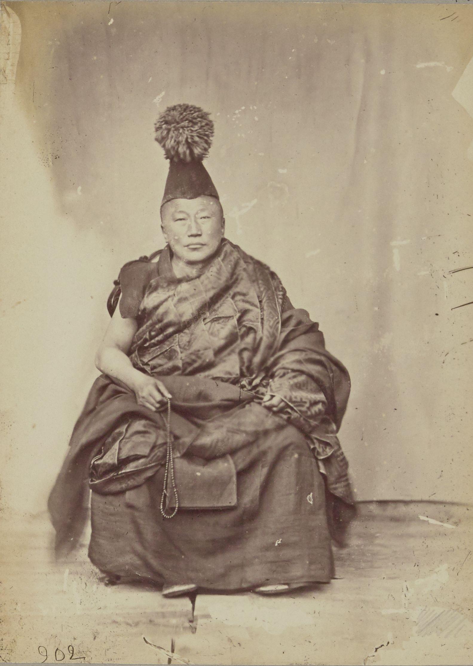 Монгольский лама, Первосвященник в Урге