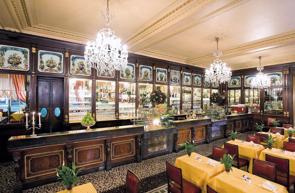 Café historique à Turin : Baratti & Milano