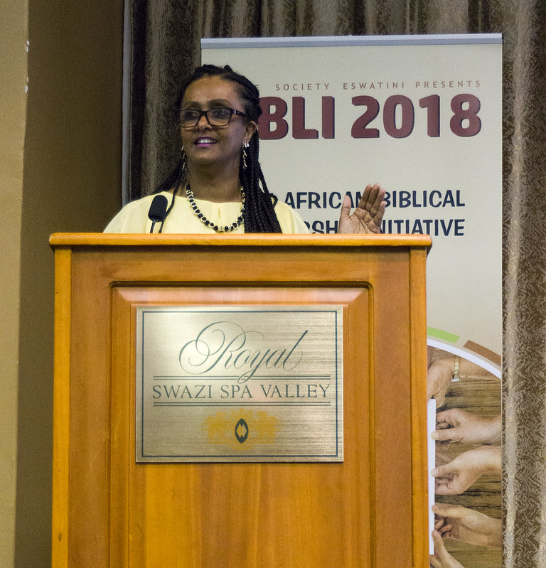 Seble Hailu at ABLI 18. Picture by Bible Society, Andrew Boyd