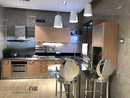 china kitchen cabinet three