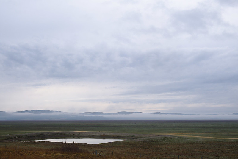 Lake George in drought