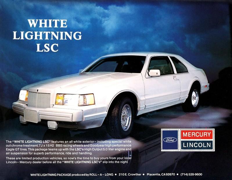 1984 Lincoln LSC