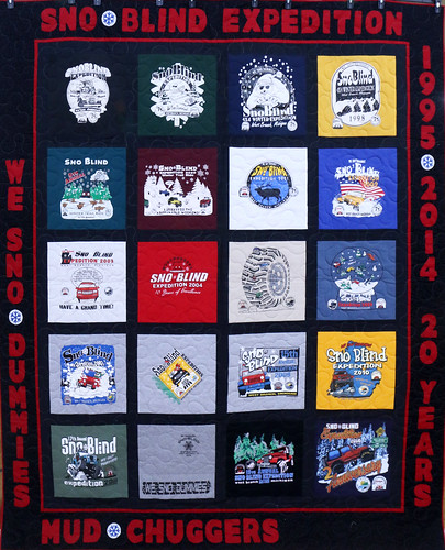 171: Sno-Blind T-Shirt Quilt - Christine Reeves