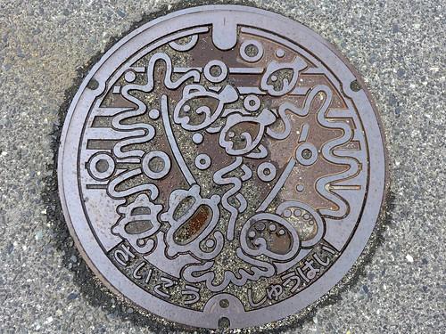 Saigo Shimane, manhole cover (島根県西郷町のマンホール)