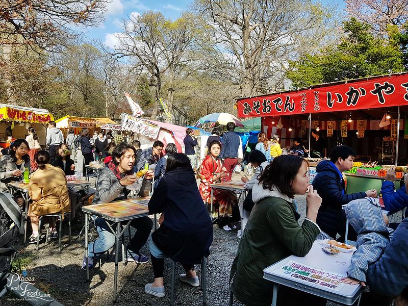 maruyama park food