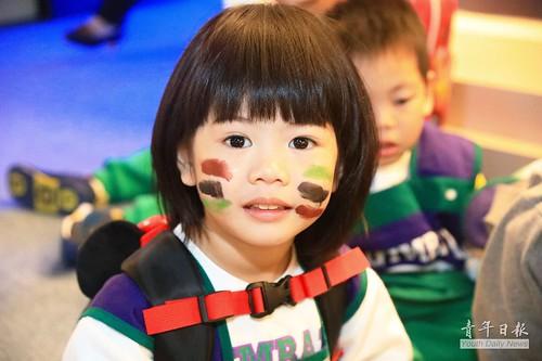 幼童參訪國防部 全民國防扎根