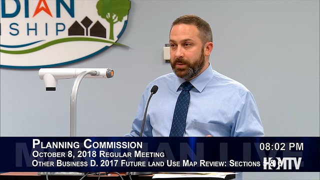 Planning Commission Reviews Future Land Use Map