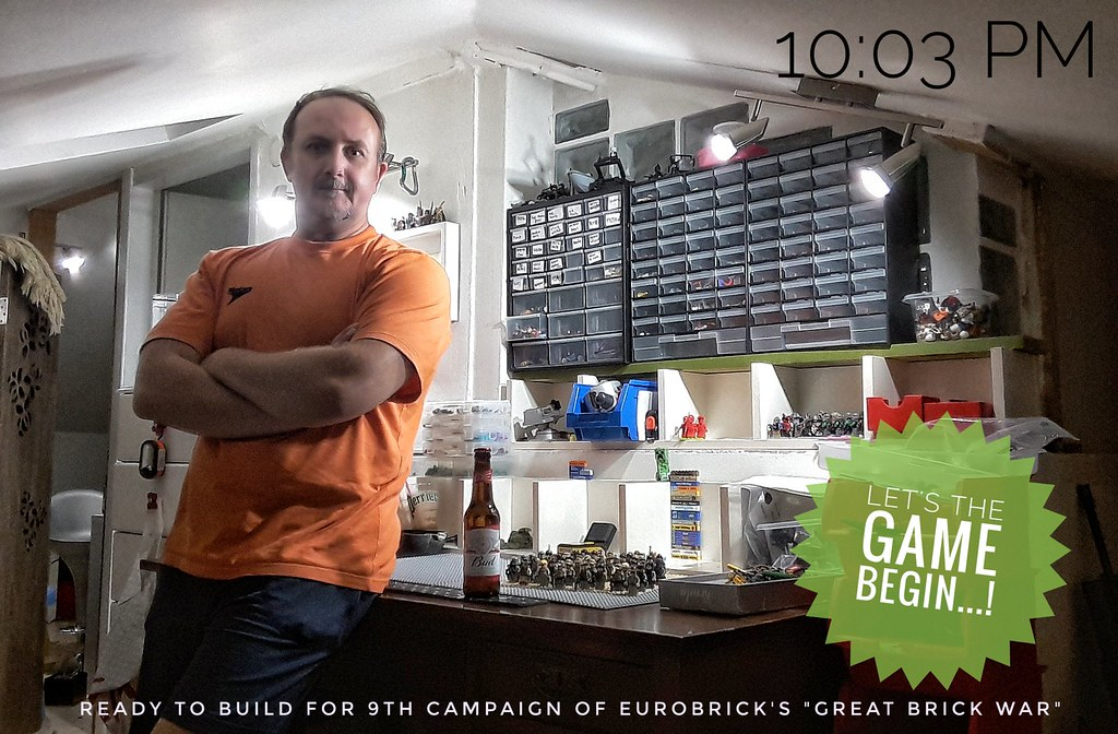 "Ready do build.... Eurobrick's ""Great Brick War"" 9th Campaign"
