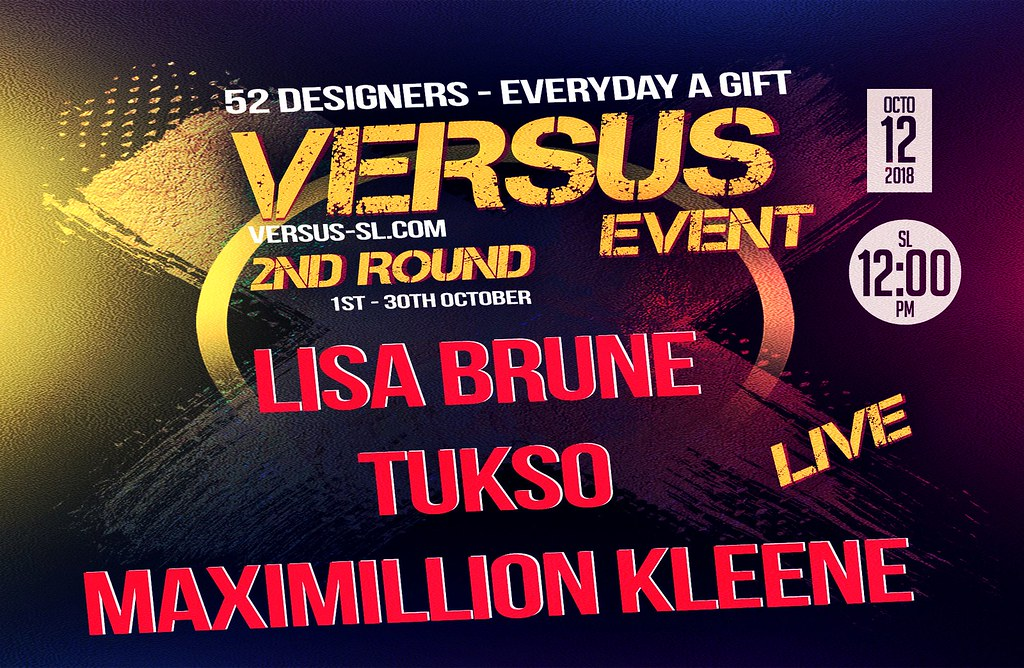 ++LISA BRUNE, TUKSO, MAXIMILLION KLEENE CONCERT LIVE @ +VERSUS+ - TeleportHub.com Live!