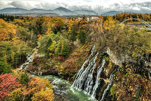 Shirahige Waterfall , Hokkaido, Japan