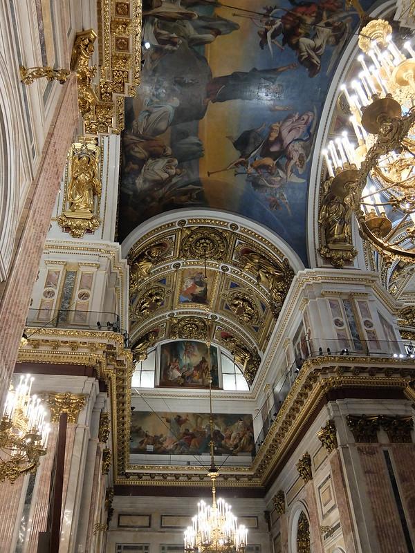 Санкт-Петербург - Фреска в Исаакиевском соборе