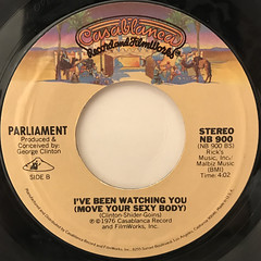 PARLIAMENT:BOP GUN(LABEL SIDE-B)