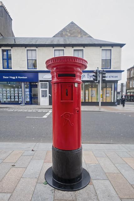 VR Pillar Box Restored and Re-installed, East Princess Street, Helensburgh