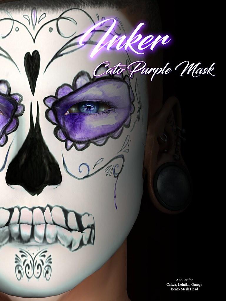 ..:: INKer ::.. Cato Purple Mask - TeleportHub.com Live!
