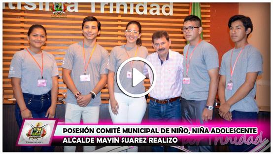 alcalde-mayin-suarez-realizo-posesion-comite-municipal-de-nino-nina-adolescente