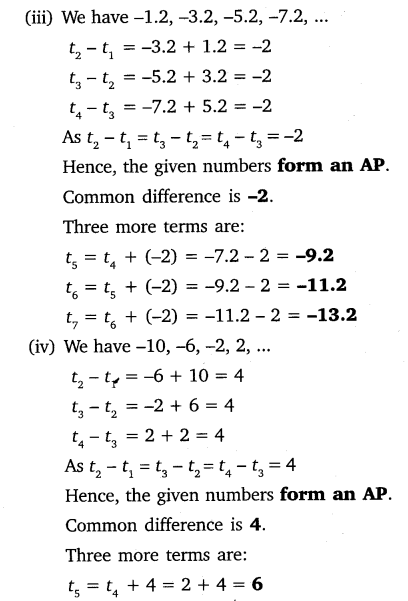 NCERT Solutions for Class 10 Maths Chapter 5 Arithmetic Progressions 9