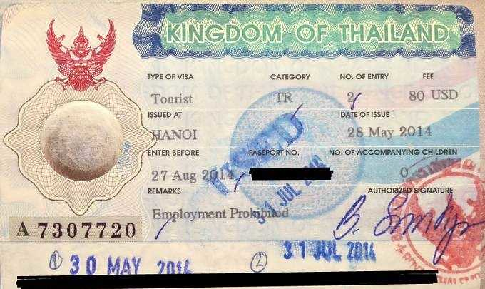 2683 Procedure to Apply for Thailand Visit Visa from Saudi Arabia