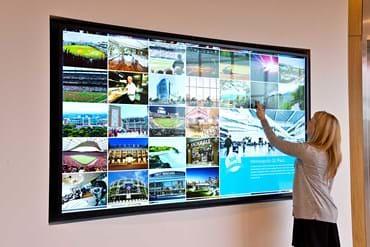 Interactive Monitor Display