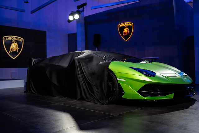 Lamborghini Tunbridge Well Launch Night