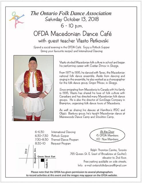 OFDA Macedonian Café 13oct18