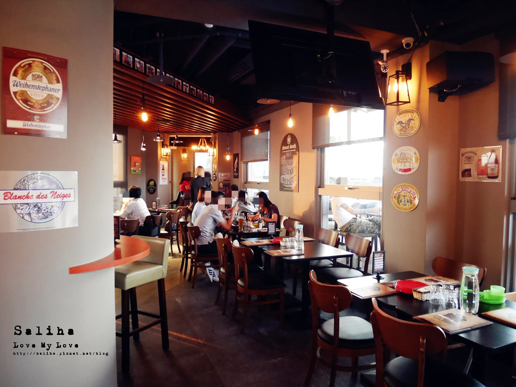 板橋府中站附近氣氛好浪漫約會餐廳美食推薦ABV閣樓餐酒館義大利麵沙拉啤酒 (8)