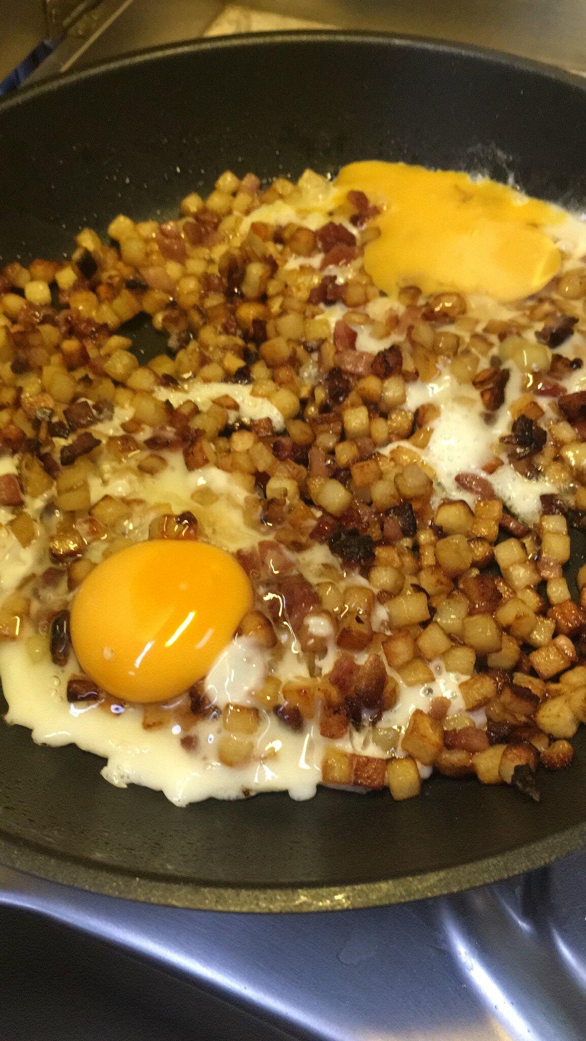 Typisch Schwedisch: Kartoffelwürfel - Krögarpytt