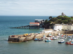 The Pier and Lifeboat Stations